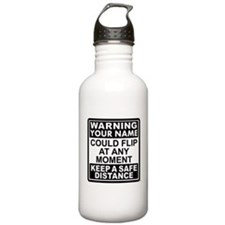Personalized Gymnastic Warning Stainless Water Bot