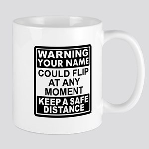 Personalized Gymnastic Warning Mug