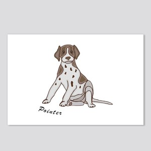 Sitting Pointer Postcards (Package of 8)