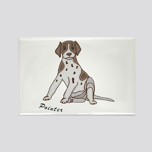 Sitting Pointer Rectangle Magnet