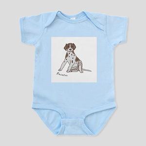 Sitting Pointer Infant Creeper