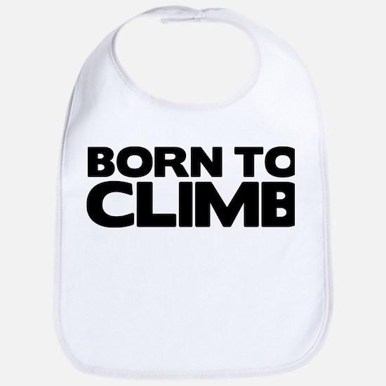 BORN TO CLIMB Bib