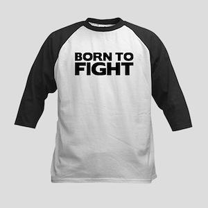 Born to Fight Kids Baseball Jersey