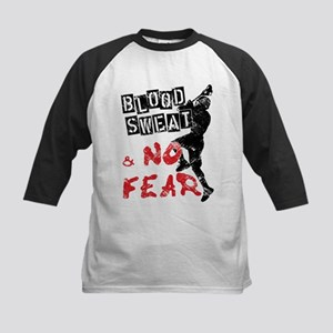 Blood, Sweat and No Fear (Lacrosse) Kids Baseball