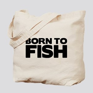 BORN TO FISH Tote Bag