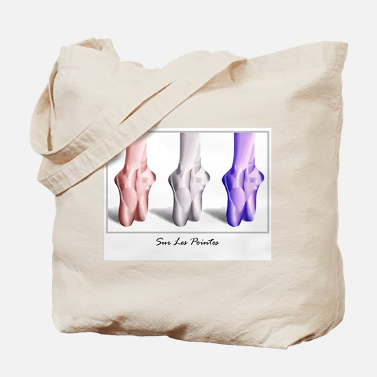 Unique Pointe Tote Bag