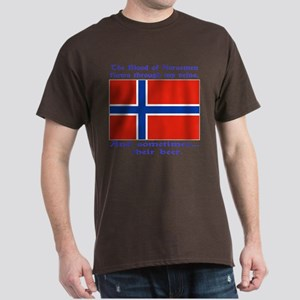 Norseman Blood & Beer (Norway Black T-Shirt