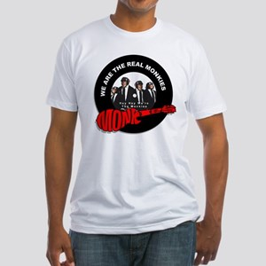 We Are The Real Monkies Fitted T-Shirt