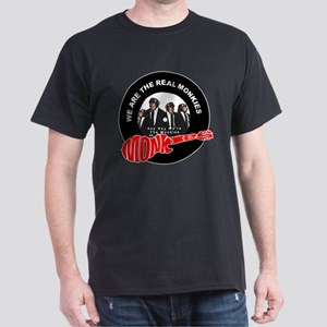 We Are The Real Monkies Black T-Shirt