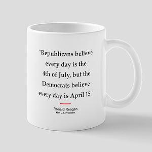 Ronald Reagan Quote #1 Mug