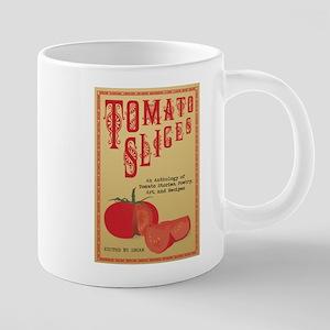 tomato slices 20 oz Ceramic Mega Mug