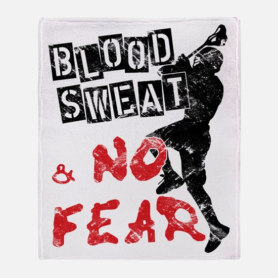 Blood, Sweat and No Fear (Lacrosse) Stadium Blank