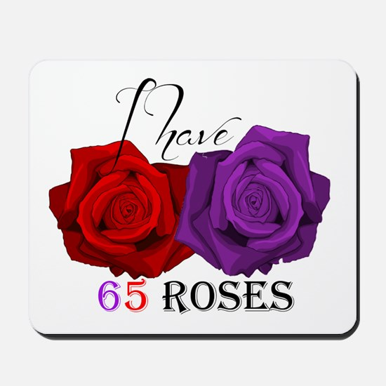 Two Roses: I have Cystic Fibrosis Mousepad
