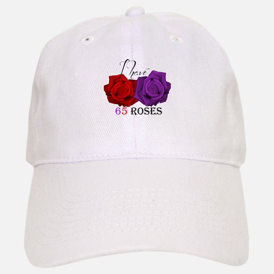 Two Roses: I have Cystic Fibrosis Baseball Baseball Cap