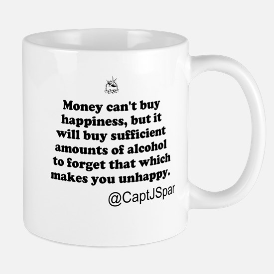 Money cant buy happiness Mug