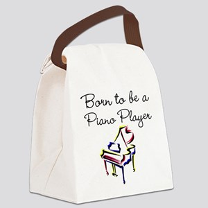 PIANO PLAYER Canvas Lunch Bag