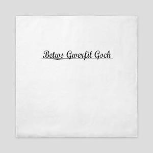 Betws Gwerfil Goch, Aged, Queen Duvet