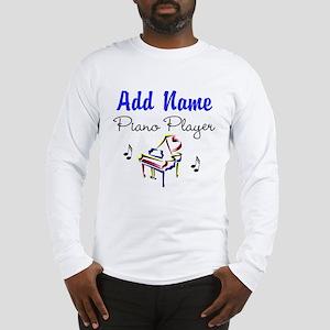 PIANO PLAYER Long Sleeve T-Shirt