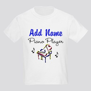PIANO PLAYER Kids Light T-Shirt