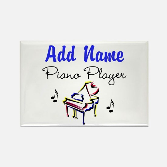 PIANO PLAYER Rectangle Magnet