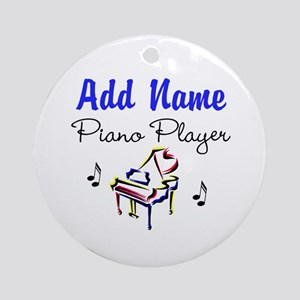 PIANO PLAYER Ornament (Round)