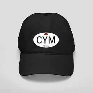 Car code Wales - White Black Cap