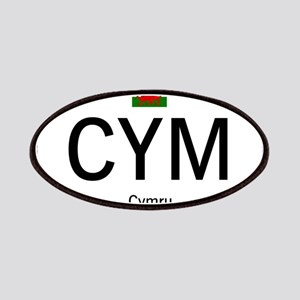 Car code Wales - White Patches