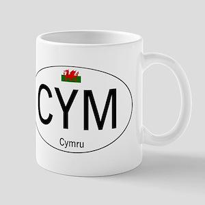 Car code Wales - White Mug