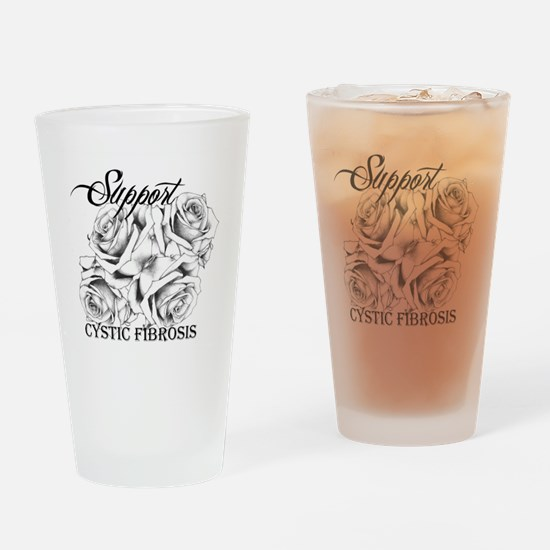 Rose Tattoo: Support Cystic Fibrosis Drinking Glas