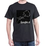 Thoughtcat t-shirt (black)