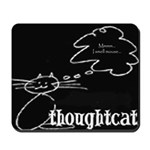 Thoughtcat and mouse mat