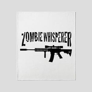 Zombie Whisperer 2 Throw Blanket