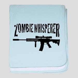 Zombie Whisperer 2 baby blanket