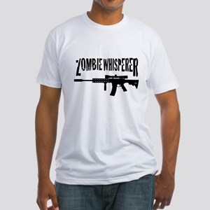 Zombie Whisperer 2 Fitted T-Shirt