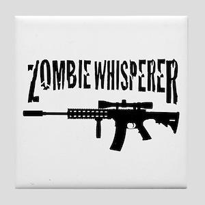 Zombie Whisperer 2 Tile Coaster