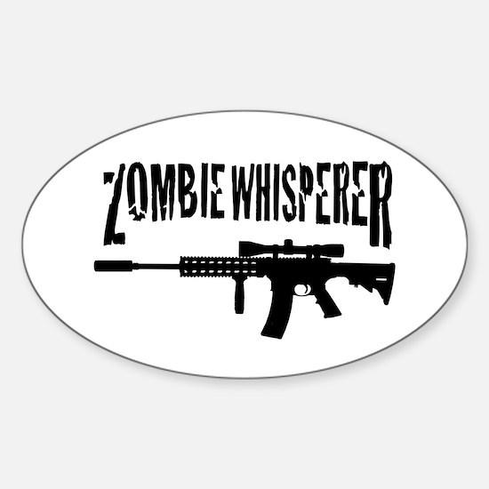 Zombie Whisperer 2 Sticker (Oval)