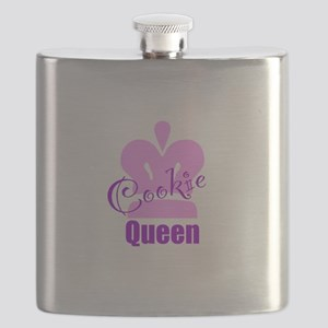 Cookie Queen Flask