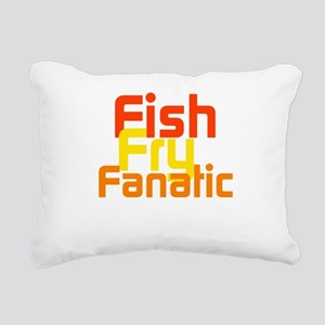 Fish Fry Fanatic Rectangular Canvas Pillow