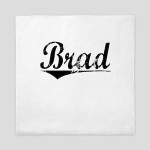 Brad, Aged, Queen Duvet
