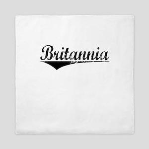 Britannia, Aged, Queen Duvet