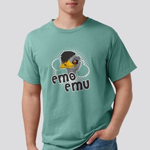 EMO EMU TEE SHIRT Mens Comfort Colors Shirt
