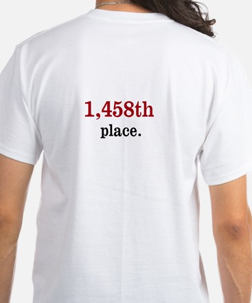 Spreadsheets Office Practical Joke White T-Shirt