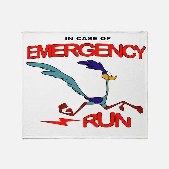 EMERGENCY Throw Blanket