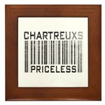 Chartreux Cats Priceless Lover Framed Tile
