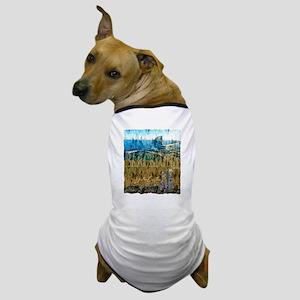 barcelona spain art illustration Dog T-Shirt