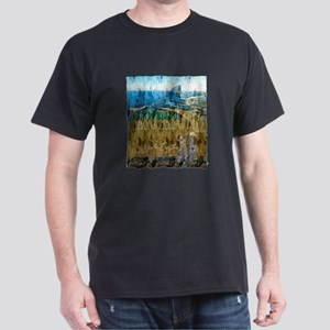 barcelona spain art illustration Dark T-Shirt