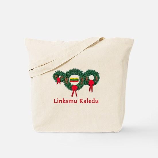 Lithuania Christmas 2 Tote Bag