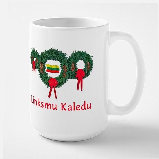 Lithuania Christmas 2 Large Mug