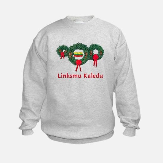 Lithuania Christmas 2 Sweatshirt