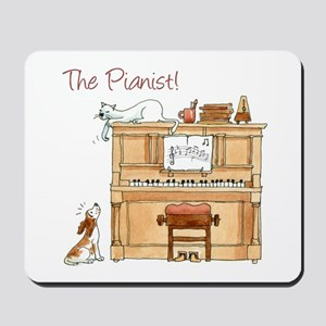 The Pianist Mousepad